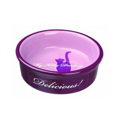 Ecuelle en céramique My Kitty Darling pour chats avec motifs Trixie