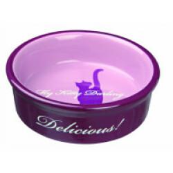 Ecuelle pour chat en céramique My Kitty Darling pour chats Trixie