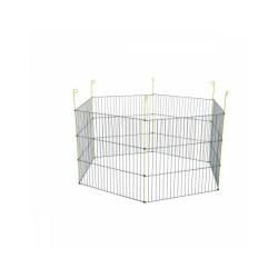 Enclos métal extérieur hexagonal 1,20 m pour rongeur