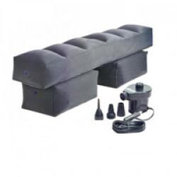 Extension gonflable pour siège arrière de voiture avec pompe de gonflage incluse