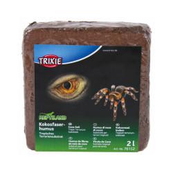 Fibres de noix de coco pressée substrat pour reptile et rongeur Reptiland Trixie