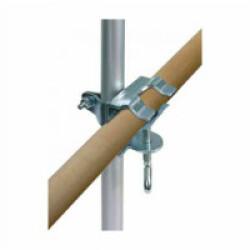 Support serrage étau 3.5 cm pour filet de sécurité pour balcon vert olive