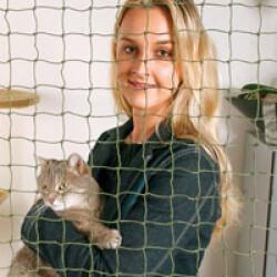 Filet de sécurité habitation pour chat et petit chien 3 x 2 m