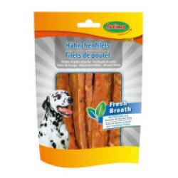 Filets de poulet Bubimex Fresh Breath pour chien - 100g