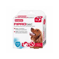 Fiprodog pipettes antiparasitaires pour chien FiproTec 10 à 20 kg (34 mg)