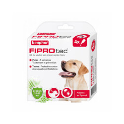 Fiprodog pipettes antiparasitaires pour chien FiproTec 20 à 40 kg (268 mg)