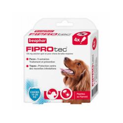Fiprotec pipettes antiparasitaires pour chien Beaphar Chien de 10 à 20 kg