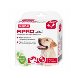 Fiprotec pipettes antiparasitaires pour chien Beaphar Chien de 20 à 40 kg