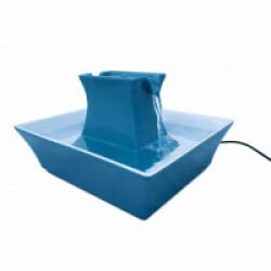 Fontaine à eau Drinkwell PAGODA bleue en céramique 2 litres