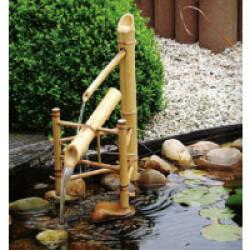 Fontaine de jardin Cascade Bambou Ubbink