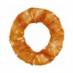 Friandise Denta Fun Donut pour chien Saveur Poulet Medium - diamètre 20 cm