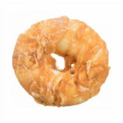 Friandise Denta Fun Donut pour chien Saveur Poulet Small - diamètre 10 cm