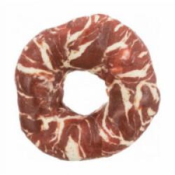 Friandise Denta Fun Donut pour chien saveur Boeuf Small - diamètre 10 cm