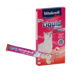 Friandises liquides Cat Liquid-Snack au canard pour chat boite de 6 sachets 15 gr