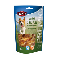 Friandise naturelle Banana Chicken Trixie pour chien