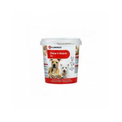 Friandise pour chien Chew'n Snack Bones Mix Flamingo 500 g