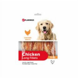 Friandise pour chien Chick'n Snack Long - 1 Sachet de 400 g (DLUO 6 mois)