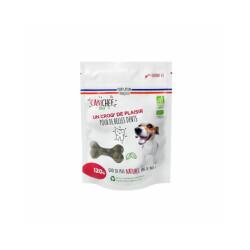 Friandises Canichef Bio pour hygiène bucco-dentaire du chien - Sachet de 120g
