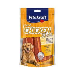Friandises filets de poulet pour chien Vitakraft 80 g