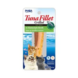 Friandise pour chat Inaba filet de thon et bouillon maison - 15 g