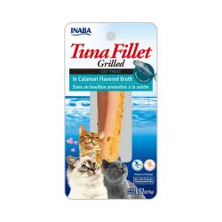 Friandise pour chat Inaba filet de thon et seiche - 15 g