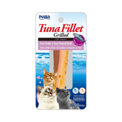Friandise pour chat Inaba Extra Tendre filet de thon - 15 g