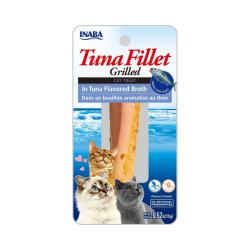 Friandise pour chat Inaba filet de thon nature - 15 g