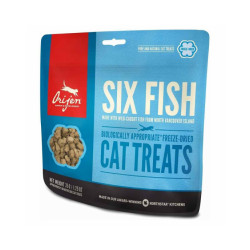 Friandises pour chat Orijen Six Fish treats