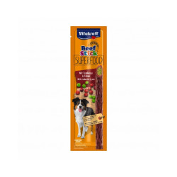 Friandises pour chien Beef Stick Superfood Vitakraft petits pois / cranberries 25 g