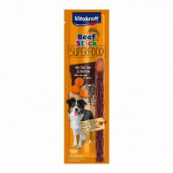 Friandises pour chien Beef Stick Superfood Vitakraft carottes / graines de Chia 25g