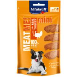 Friandises sans céréales pour chien Meat Me ! Vitakraft Mini Dinde 60 g