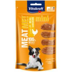 Friandises sans céréales pour chien Meat Me ! Vitakraft Mini Poulet 60 g (DLUO 3 mois)