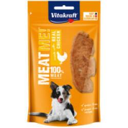 Friandises sans céréales pour chien Meat Me ! Vitakraft Poulet 60 g (DLUO courte)