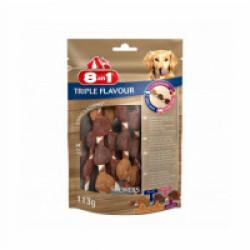 Friandises Triple Flavour 8in1 brochettes à mâcher pour chien - 6 pièces