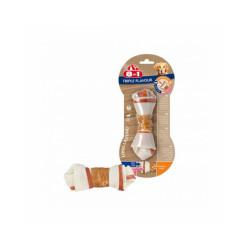 Friandises Triple Flavour 8in1 os à mâcher pour chien M - l'unité