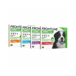 Frontline Combo Spot On soin antiparasitaire pour chiens