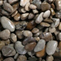Galets 4-8 mm pour fond d'aquarium Coloris Clair - Sac 2 kg