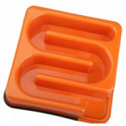 Gamelle anti glouton carrée labyrinthe 1,2 litres M-Pets