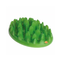 Gamelle anti-glouton GREEN pour chien - Taille S