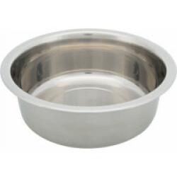 Gamelle en acier inoxydable pour chien Trixie - 2,4 Litres / ø 25 cm