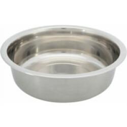 Gamelle en acier inoxydable pour chien Trixie - 1,6 Litres / ø 21 cm