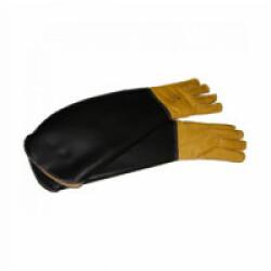 Gants de capture renforcés pour animaux dangereux lot de 2 jaune et noir