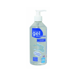 Gel hydroalcoolique à pompe 500 ml King