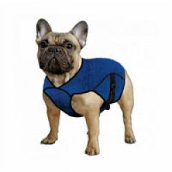Gilet bleu rafraîchissant Aqua Coolkeeper pour chien XXS