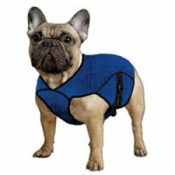 Gilet rafraîchissant bleu pour chien Aqua Coolkeeper XXS