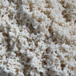 Gravier 1-2 mm billes pour fond d'aquarium Coloris Blanc - Sac 10 kg