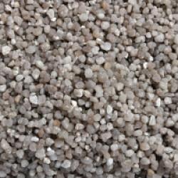 Gravier 2-3 mm quartz pour fond d'aquarium Coloris Gris - Sac 2 kg