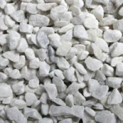 Gravier blanc pour fond d'aquarium 6-9 mm - Sac 2 kg