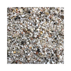 Gravier fin 1-3 mm naturel pour fond d'aquarium