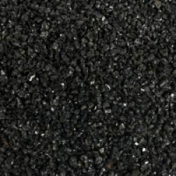 Gravier fin 1-3 mm noir pour fond d'aquarium - Sac 9 kg